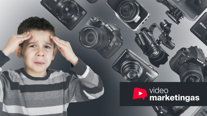 TOP3 Nebrangios Kameros Filmavimui, Skirtos Pradedantiesiems, 2019 Metais